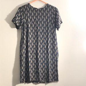 H&M women's dress (giraffes)